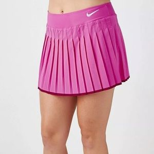 Nike Dri Fit Victory Skort Hot Pink and Berry XL